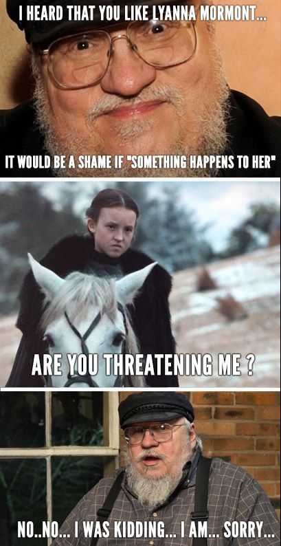 7bb0f8b0 Lyanna Mormont in 2019 | lol | Game of thrones meme, Games, Game of ...