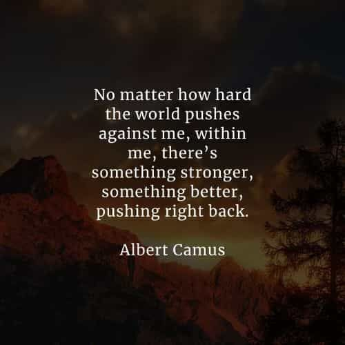 50 Famous quotes and sayings by Albert Camus