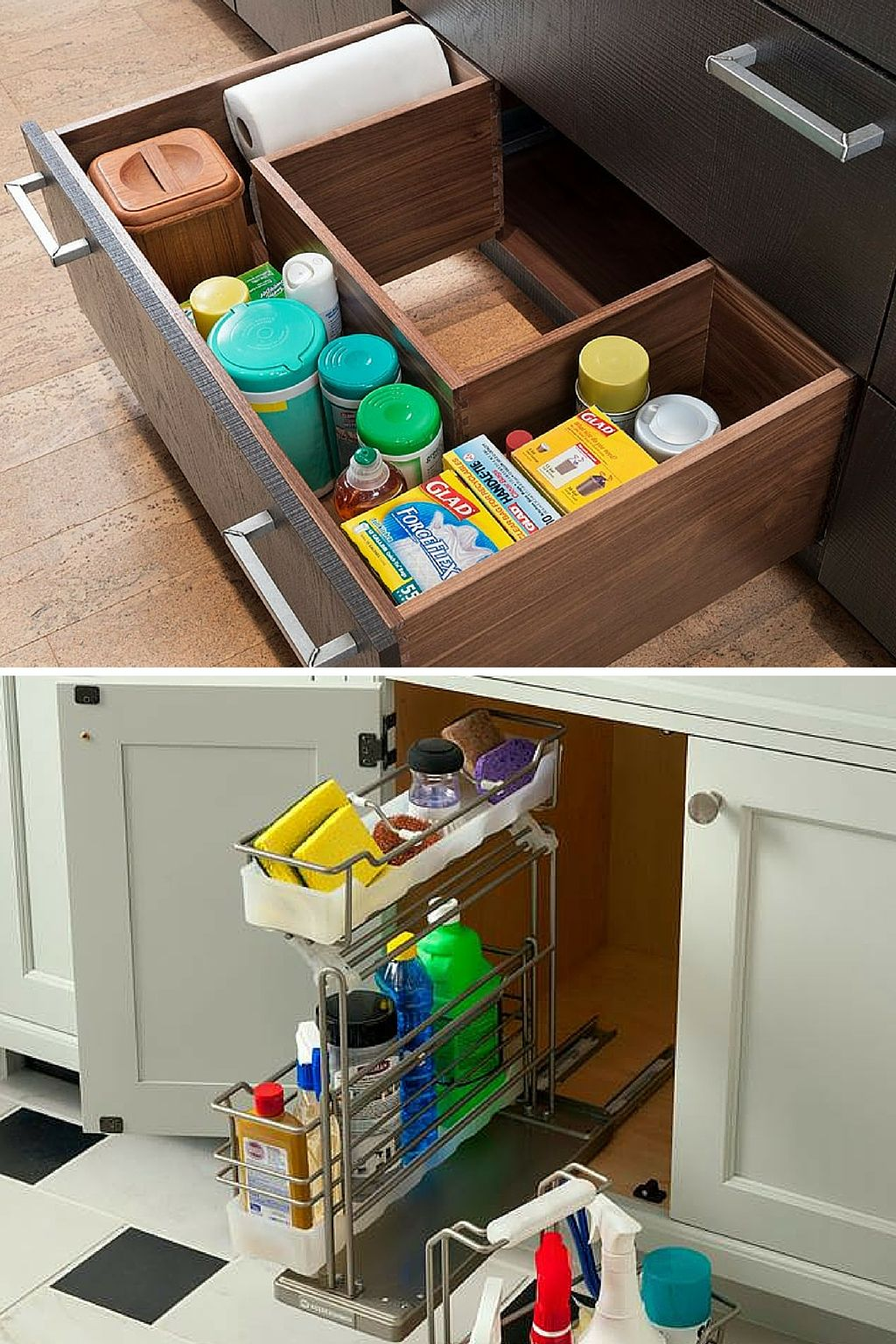 Looking For A Place To Store Your Kitchen Cleaning Supplies Woodmode Customcabinetry Http Www Store Kitchen Appliances Cabinetry Kitchen Cleaning Supplies