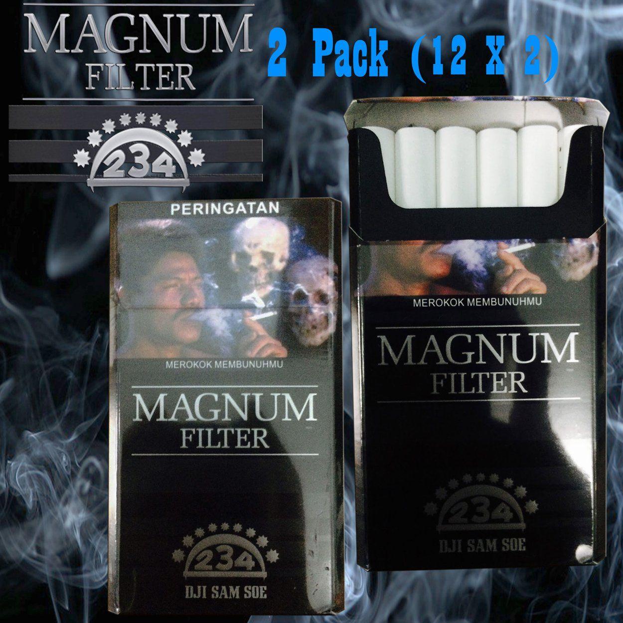 Harga Jual Dji Sam Soe Kretek 12 Isi 1slop Magnum 2 Pack 2x12 Filter Newfresh Sealed