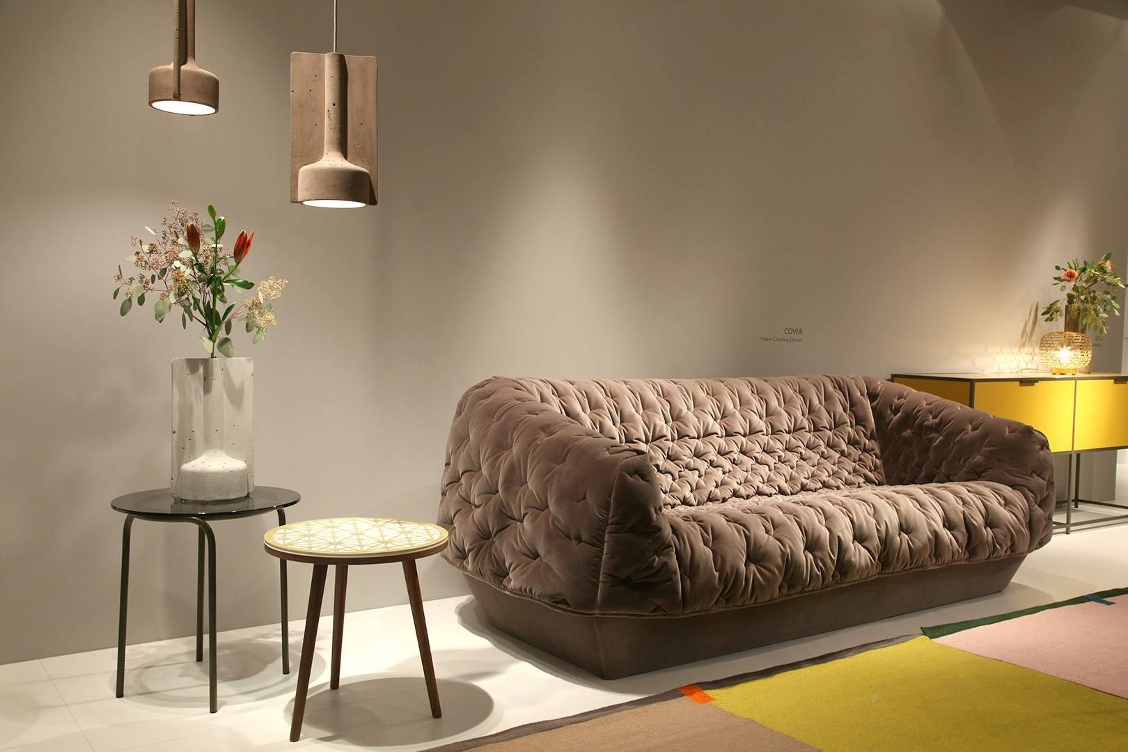ligne roset at imm cologne 2017 view highlights of ligne roset s booth from the imm cologne. Black Bedroom Furniture Sets. Home Design Ideas