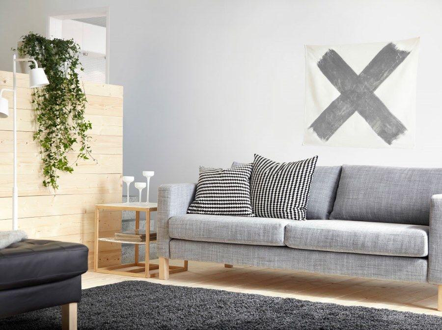 Pok³j dzienny IKEA Średni salon zdjęcie od IKEA