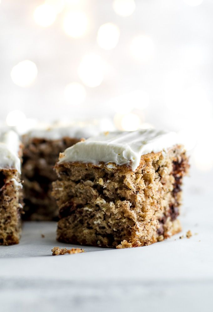 Healthy Banana Cake With Cream Cheese Frosting Recipe Low