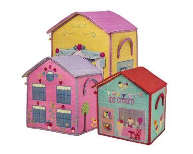 Korbset Häuser für Mädchen