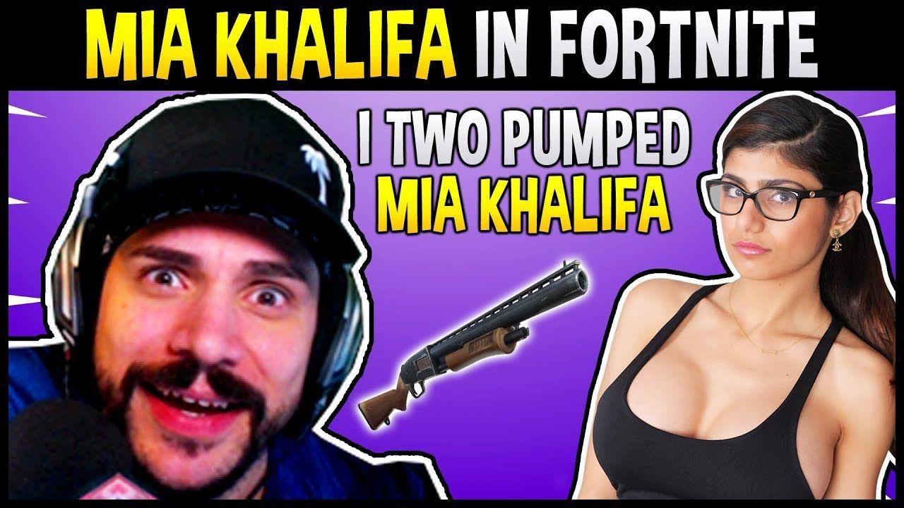 CDNTHE3RD TWO PUMPED MIA KHALIFA IN FORTNITE! #MiaKhalifa #CDNTHE3RD