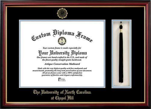 north carolina tarheels unc diploma frame and tassel box - Diploma Frames Walmart