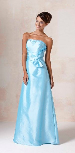 Bleu sorbet bridesmaids dress from Romantica of Devon | My snowflake ...