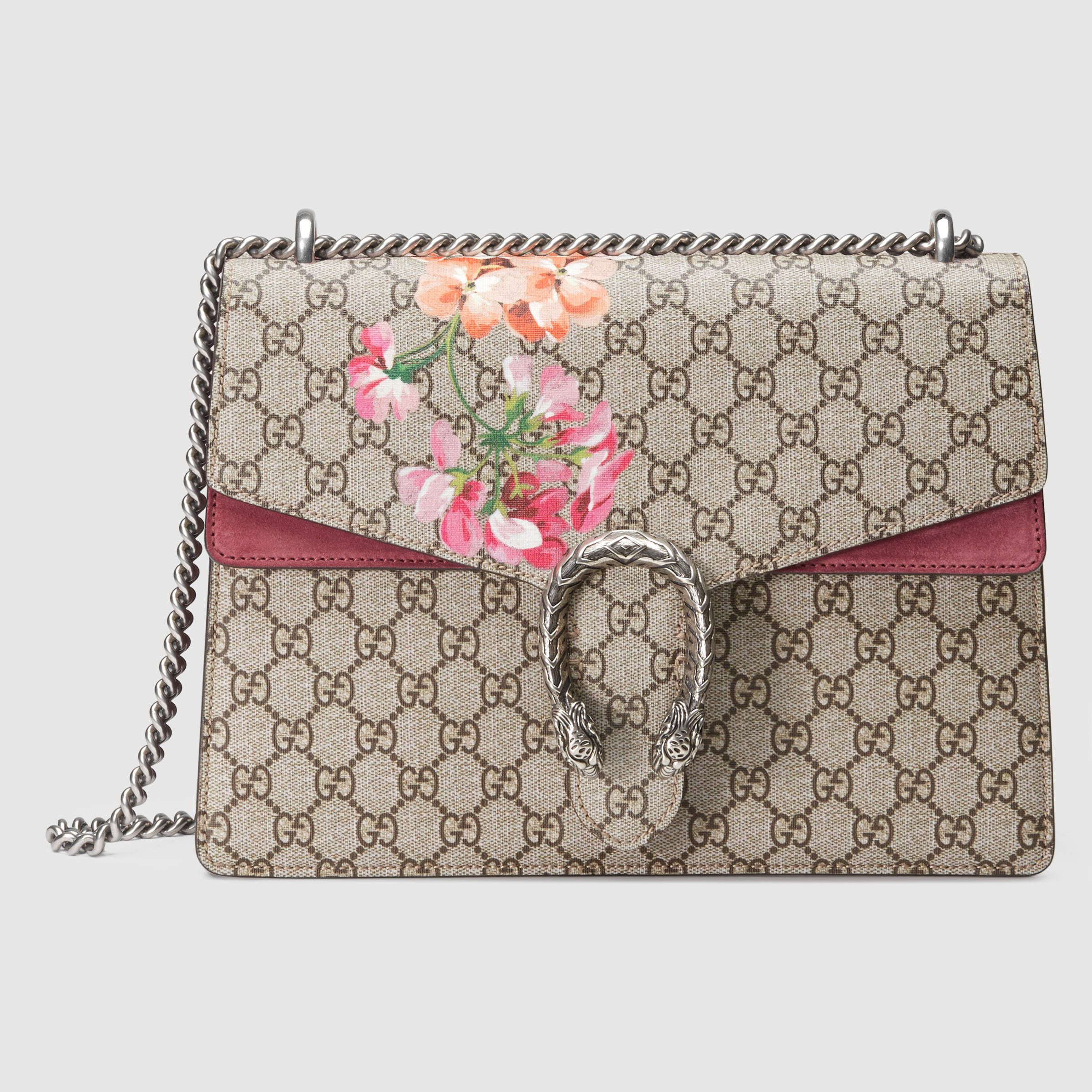 632aea5e Dionysus medium GG Blooms shoulder bag | All about the bag! | Gucci ...