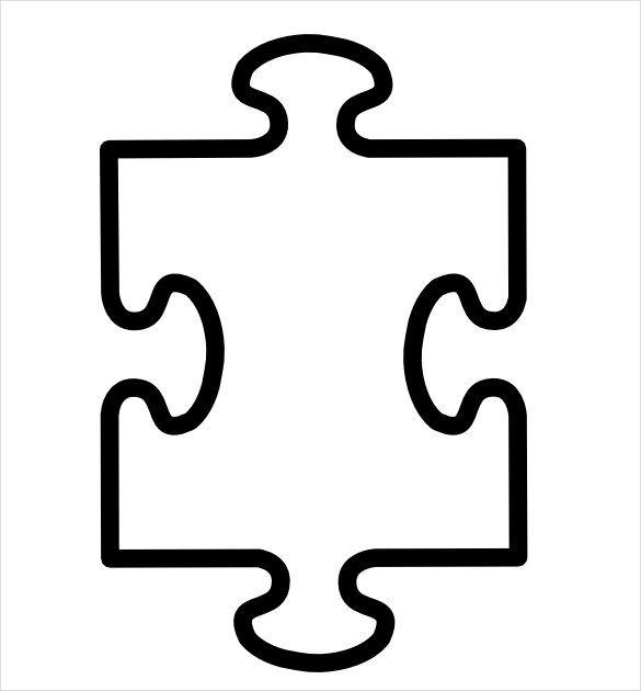 19 Puzzle Piece Puzzle Piece Template Blank Puzzle Pieces