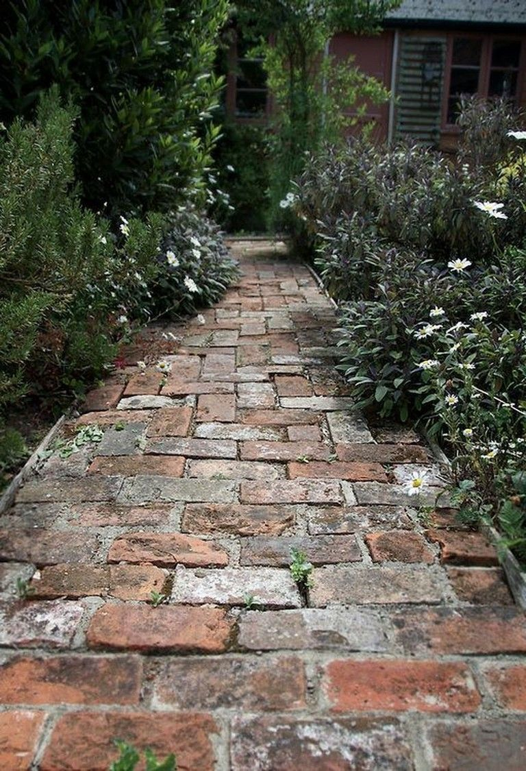 45 Amazing Diy Garden Design For Small Gardens Brick 640 x 480