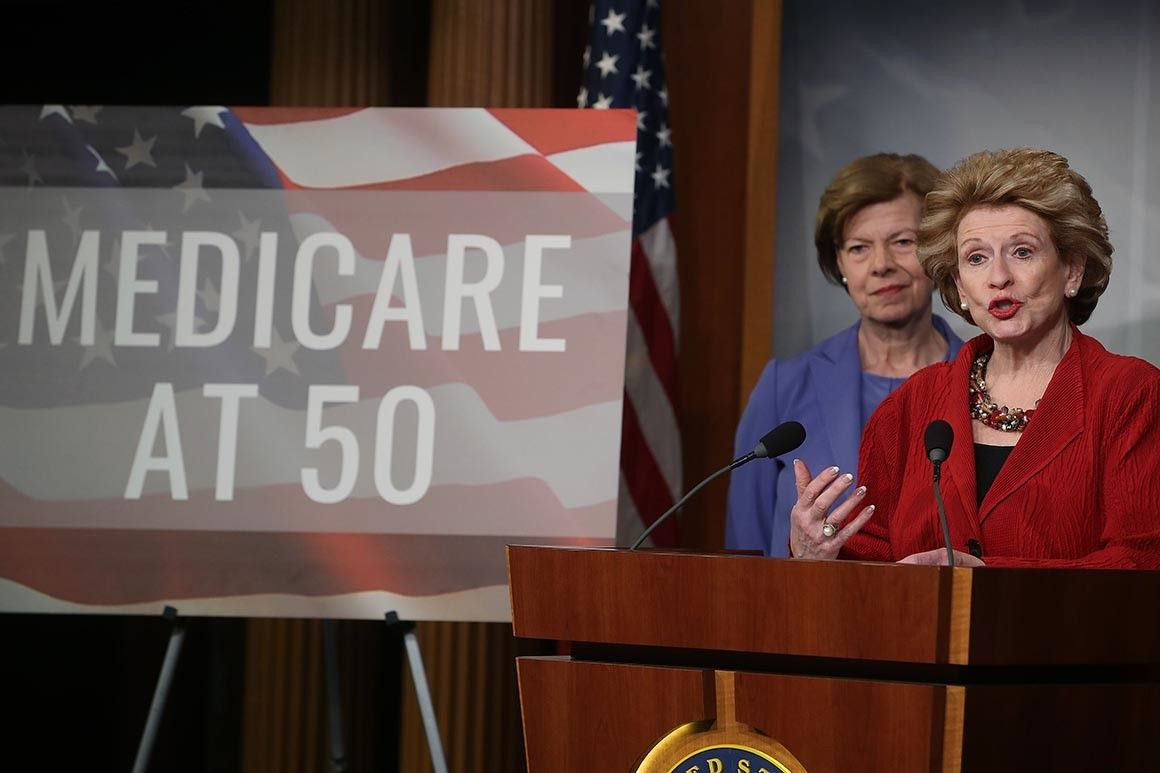 Push for Medicare buyin picks up with '50 and over' bill