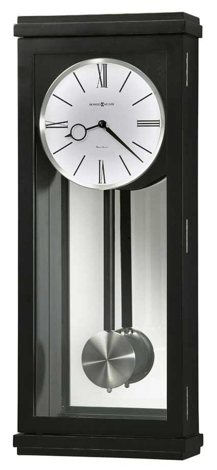 Howard Miller Alvarez 625 440 Contemporary Chiming Wall Clock Pendulum Wall Clock Wall Clock Chiming Wall Clocks