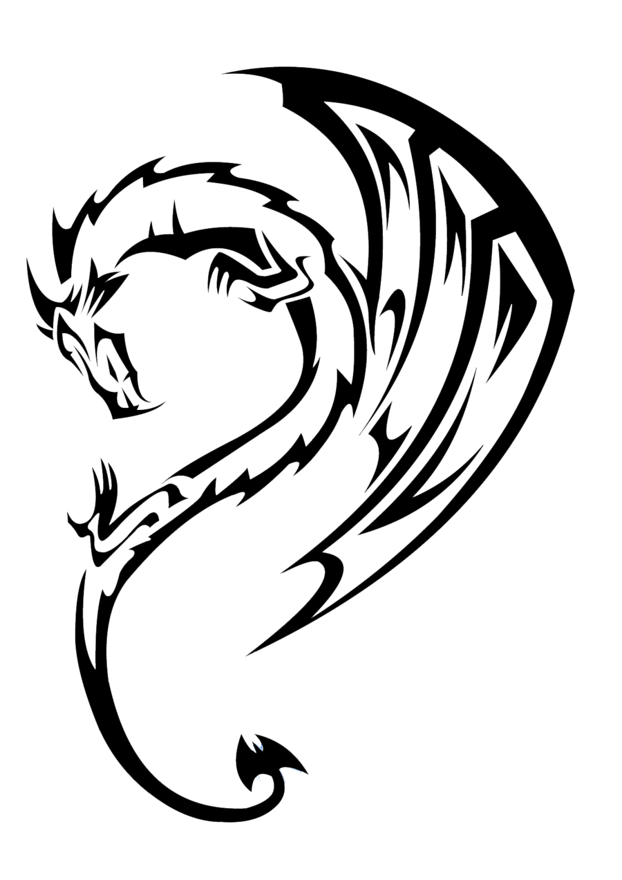 Dragon Tattoo Google Search Dragon Tattoo Dragon Tattoo Drawing Guitar Drawing