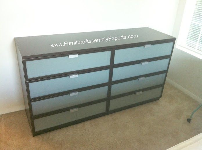 ikea hopen dresser assembled in baltimore md by Furniture