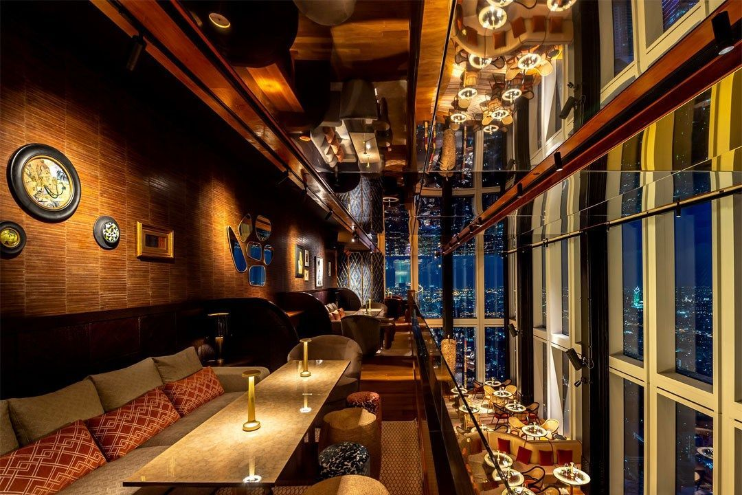 Thailand S Highest Restaurant And Bar Open At The Mahanakhon Building The Thaiger Bangkok Glass Bar Thailand