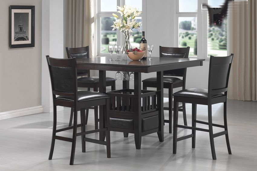 Jaden Collection 100958 Counter Height Dining Table Set Counter