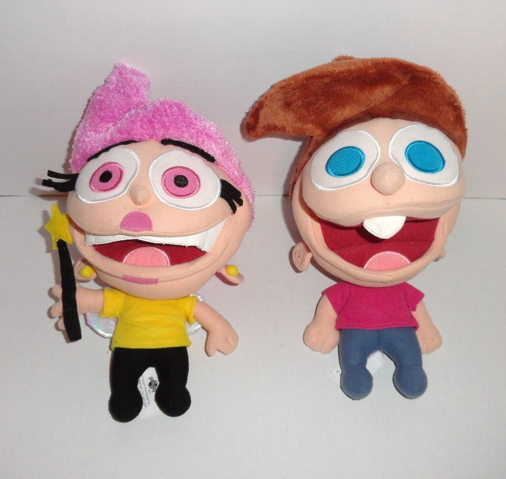 Fairly Odd Parents Plush Wanda & Timmy #universalstudios # ...  Fairly Oddparents Toys
