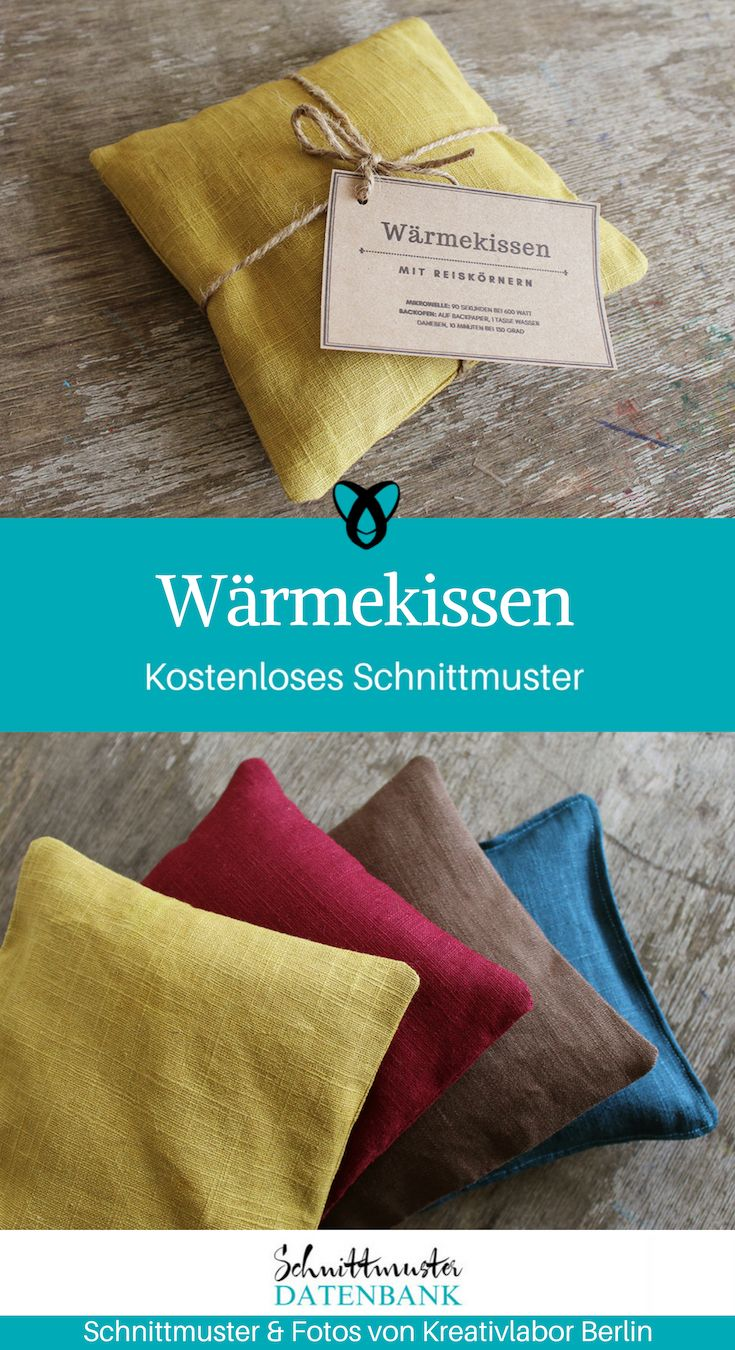 Photo of Wärmekissen mit Printable