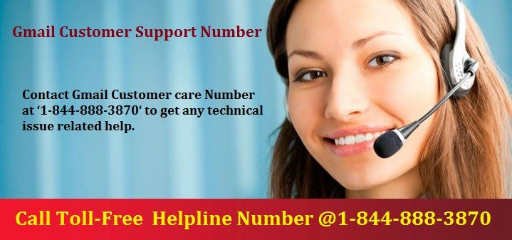 Contact Gmail Customer care Number at '1-844-888-3870' to get any technical issue related help.
