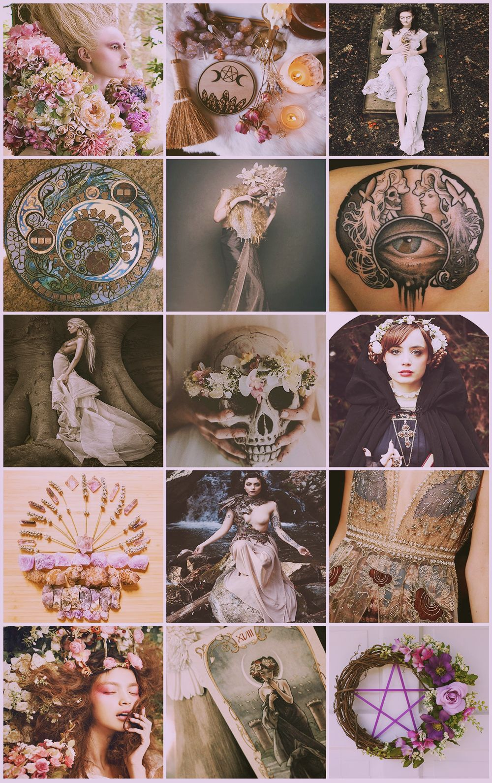 Mucha / Witch aesthetic