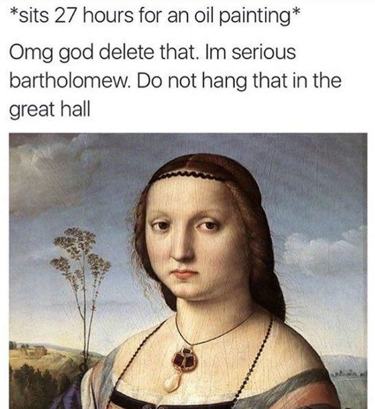 76969b4e585c11534fcc658aa5eab5bf classical art memes (@classicartmemes) twitter funny,History Memes Twitter