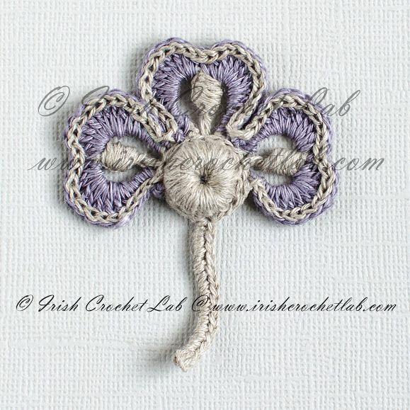 Outstanding Crochet: My new projects - Irish Crochet flowers ...
