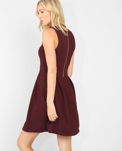 Robe bordeaux pimkie