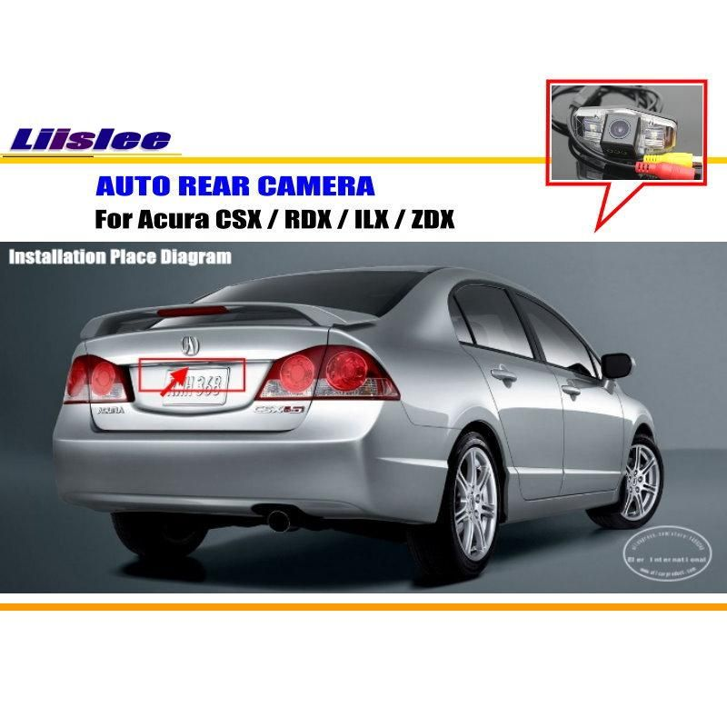 Car Rear View Camera For Acura Csx Rdx Ilx Zdx Reverse Camera Hd Ccd Rca Ntst Pal License Plate Light Oem Affiliate Acura Csx Rear View Camera Car
