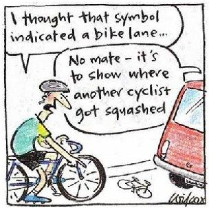 Cycle Jokes How I Beat Lance Armstrong Bike Humor Bike Lane