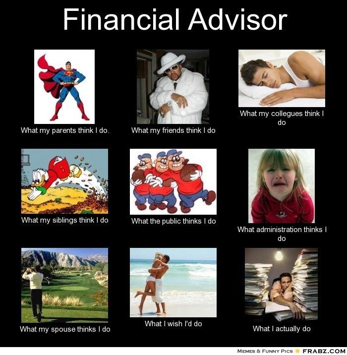 financial advisor meme Social Media Great Ideas Pinterest - financial advisor job description