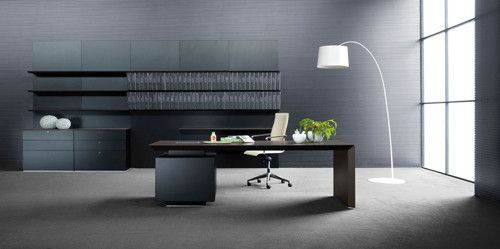 Modern Executive Office Desk And Interior
