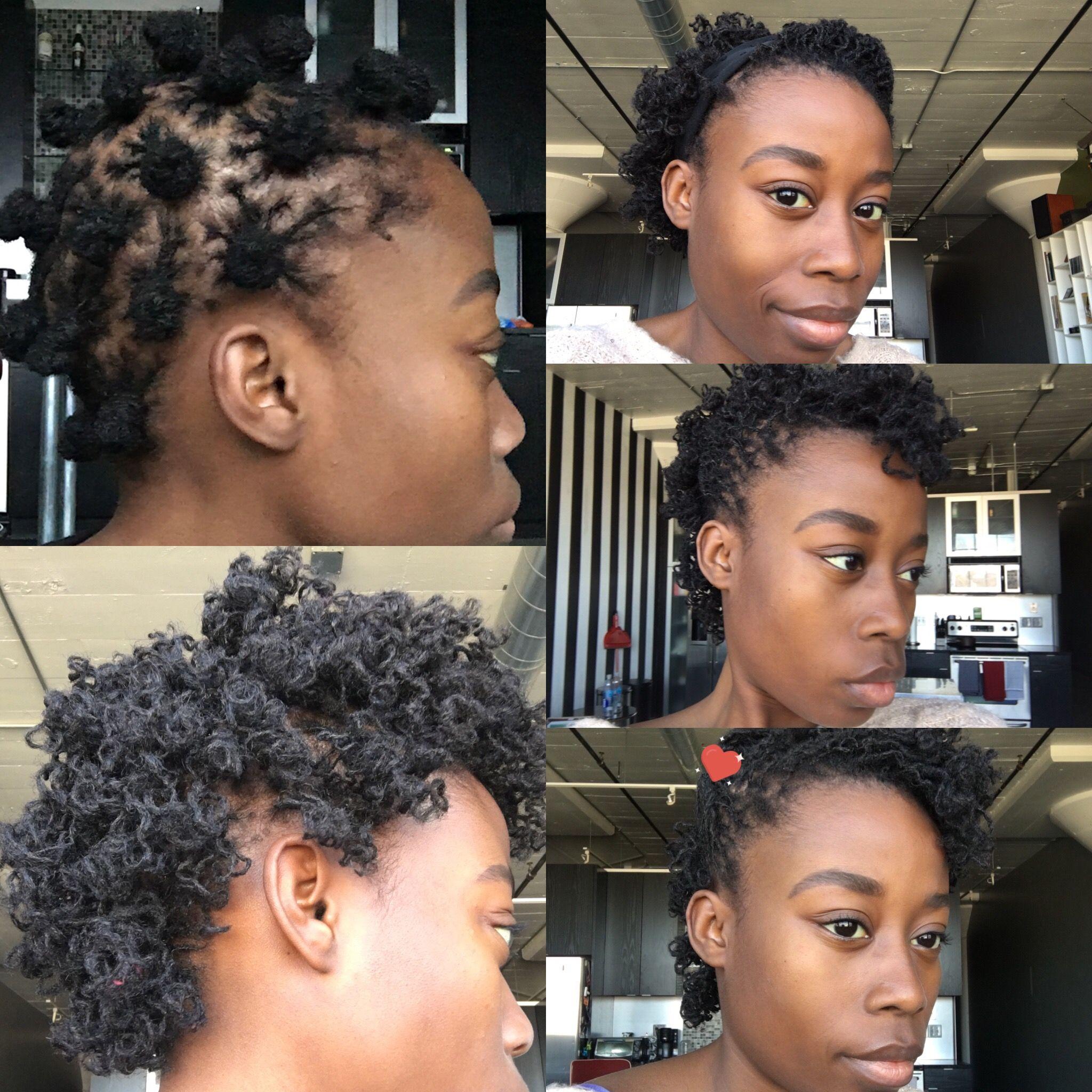 bantu knots on short sisterlocks! plus 3 quick styles!! | loc