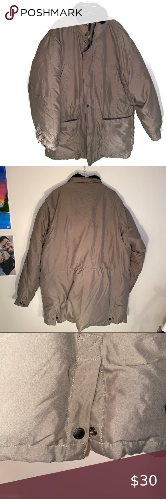 Claiborne Outerwear Puffer Jacket Xl Puffer Jackets Jackets Outerwear [ 1740 x 580 Pixel ]