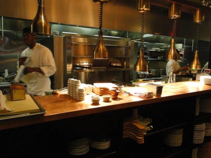 luxurious restaurant design ideas alluring open kitchen restaurant rh pinterest com