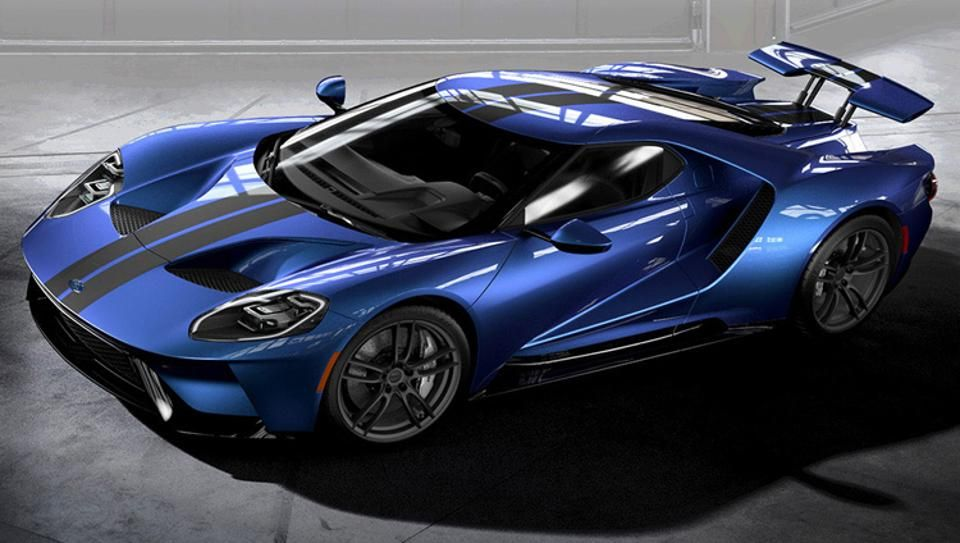 Ford Gt Top  Color Combinations From The New Ford Gt Configurator