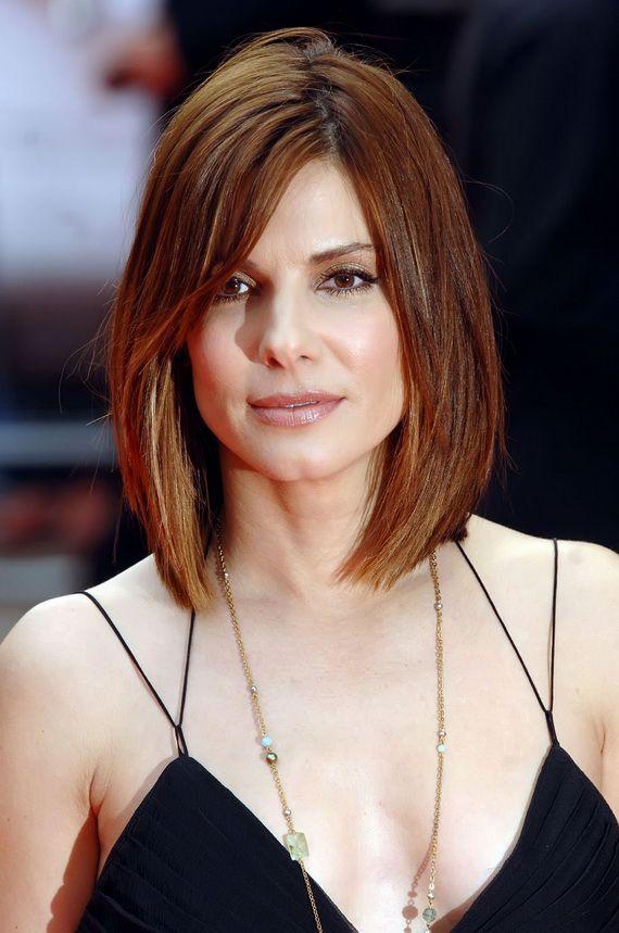 Sandra Bullock Hair Styles