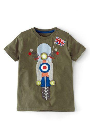 Mini Boden Vehicle Applique T Shirt Toddler Boys Little Boys Big