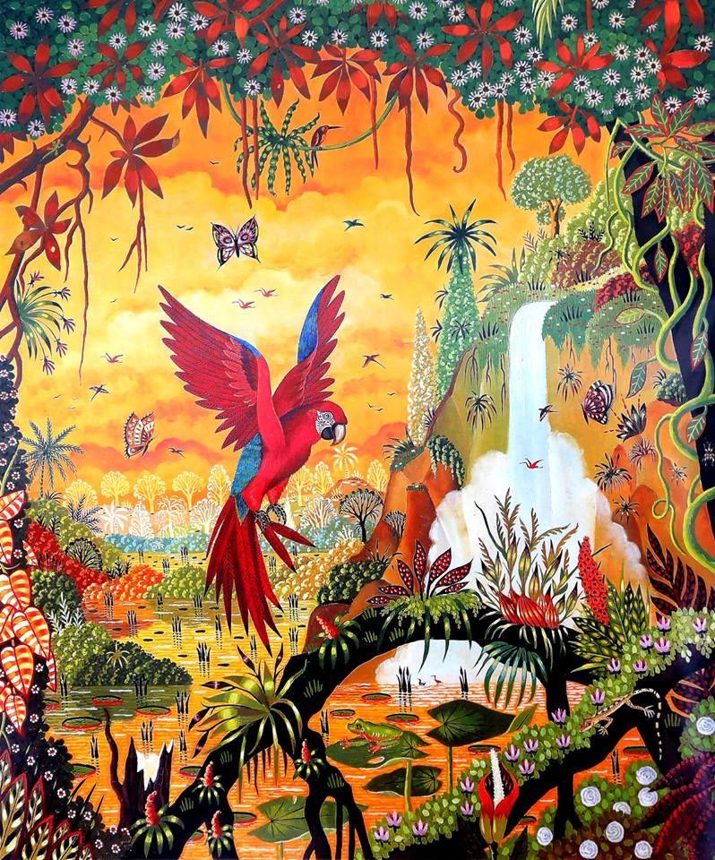 Alain Thomas Peinture Naive Alain Thomas Peinture