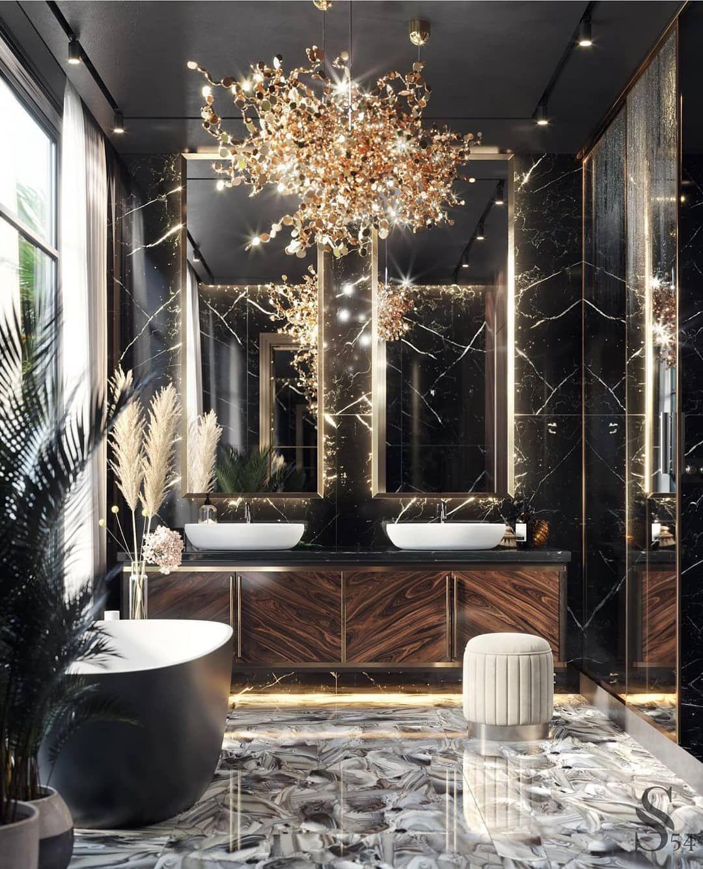 Extravagant Bathroom Design Do You Like It Design By Studia 54 Interiordesign Interiors Luxury Interior Design Luxury Interior Luxury Home Decor