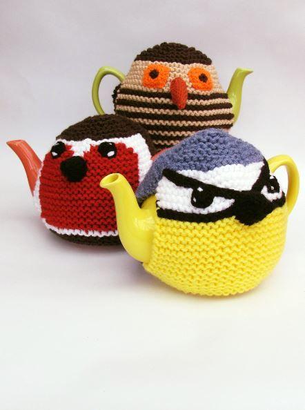 Three Birds Tea Cosy Knitting Pattern Pinterest Tea Cosy
