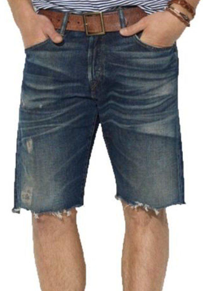 ec3d2f058f Polo Ralph Lauren Mens Classic 867 Denim Shorts Size 36 Blue ...