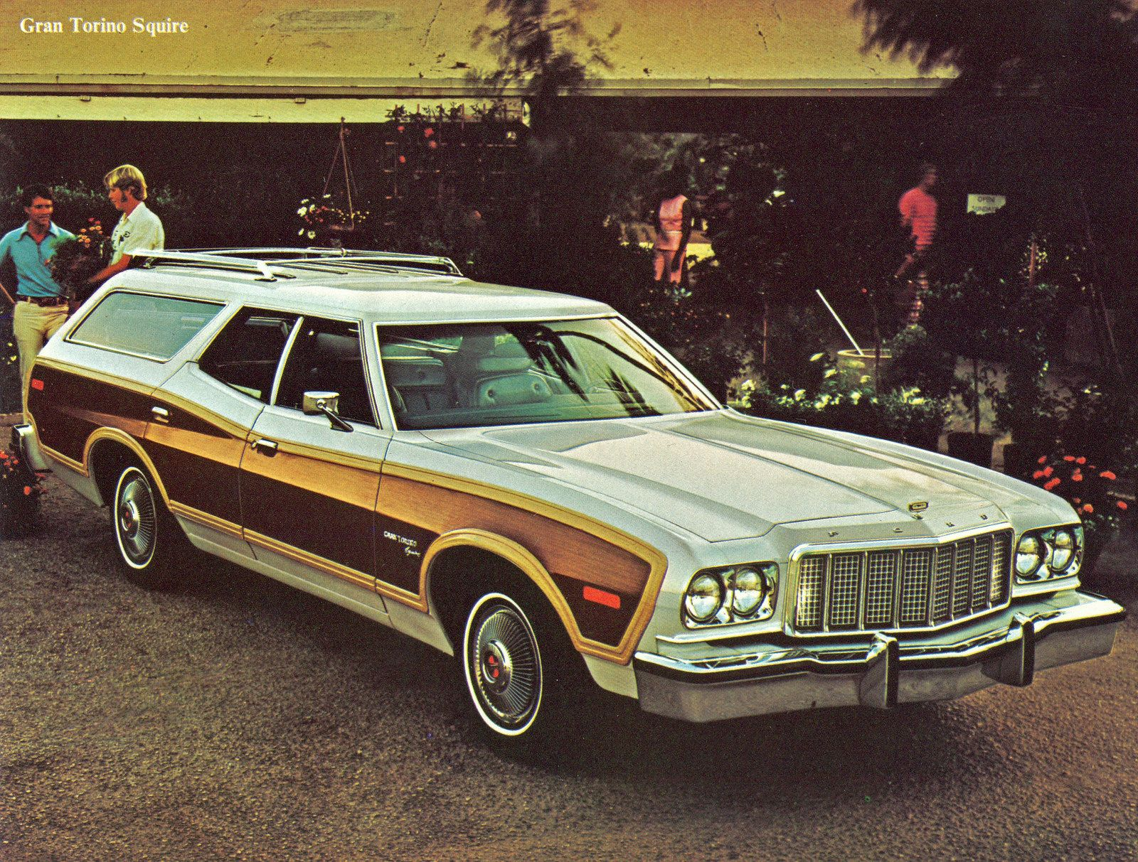 All Sizes 1976 Ford Gran Torino Squire Station Wagon Flickr