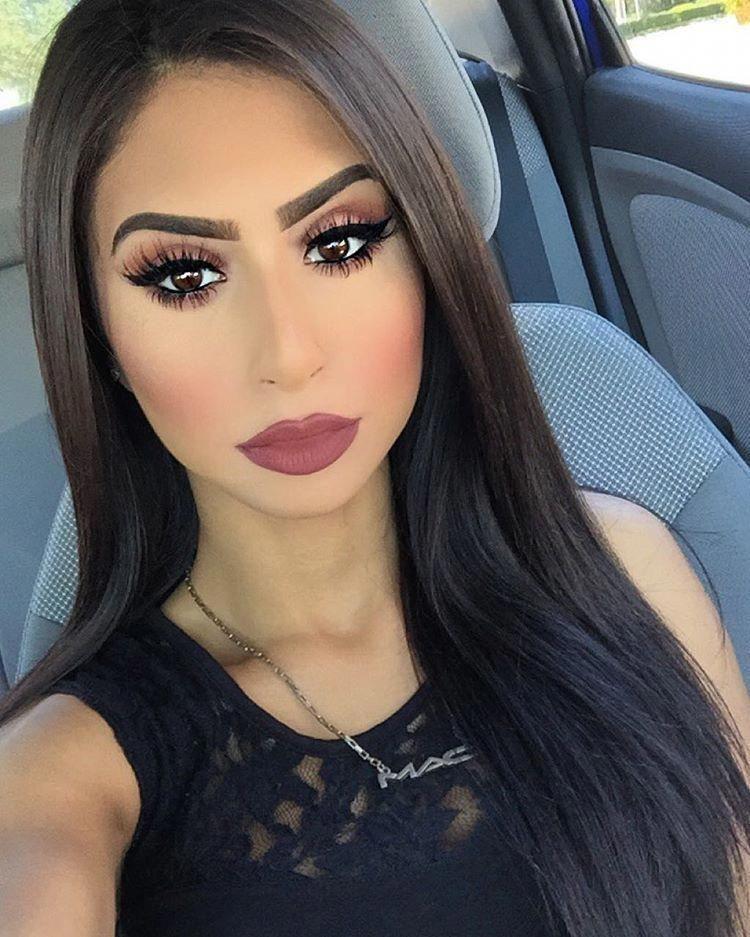 "@alaashabana96 on Instagram: ""Plums today ☺️ on my lips I got viva glam ll…"