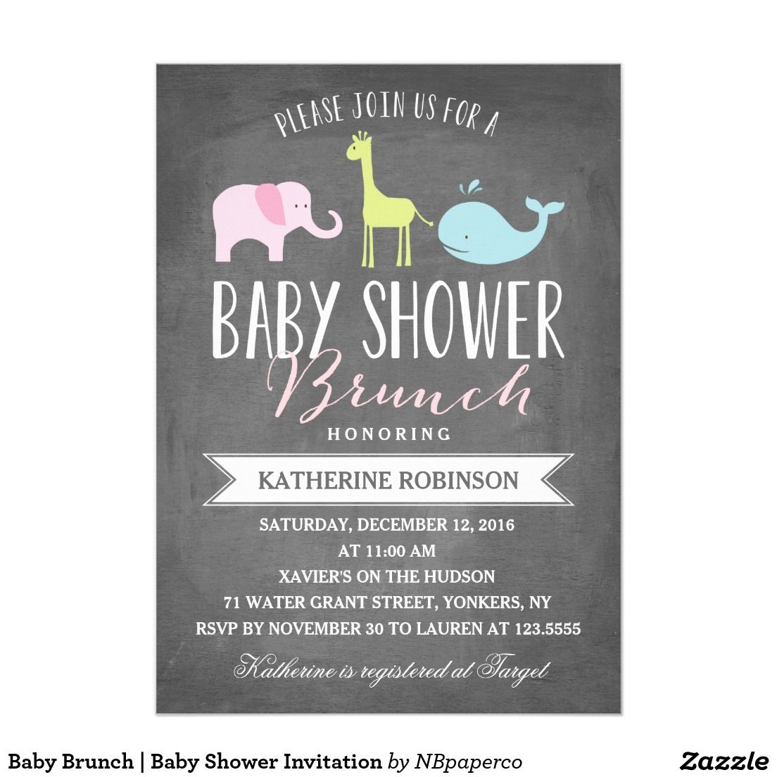 Baby Brunch | Baby Shower Invitation | celebrations | Pinterest ...