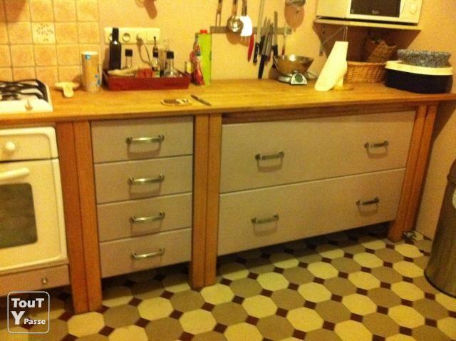 Photo A vendre cuisine équipée complète (élècto inclus) look IKEA ...