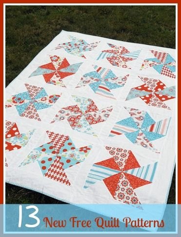 13 New Free Quilt Patterns + 8 Easy Quilt Patterns | Easy quilt ... : handmade quilt patterns - Adamdwight.com