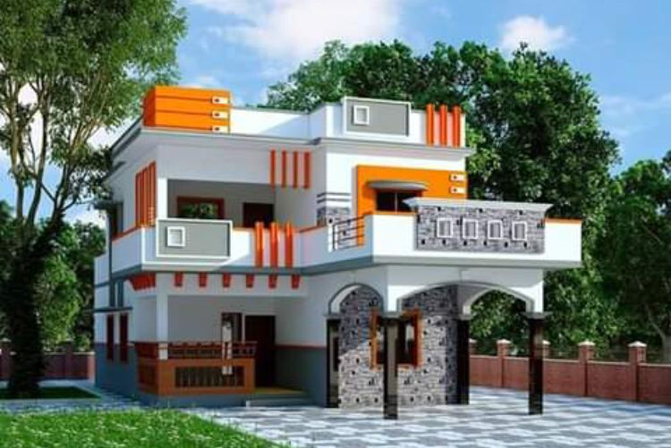 House front design image by kahadar basha on SHAIK