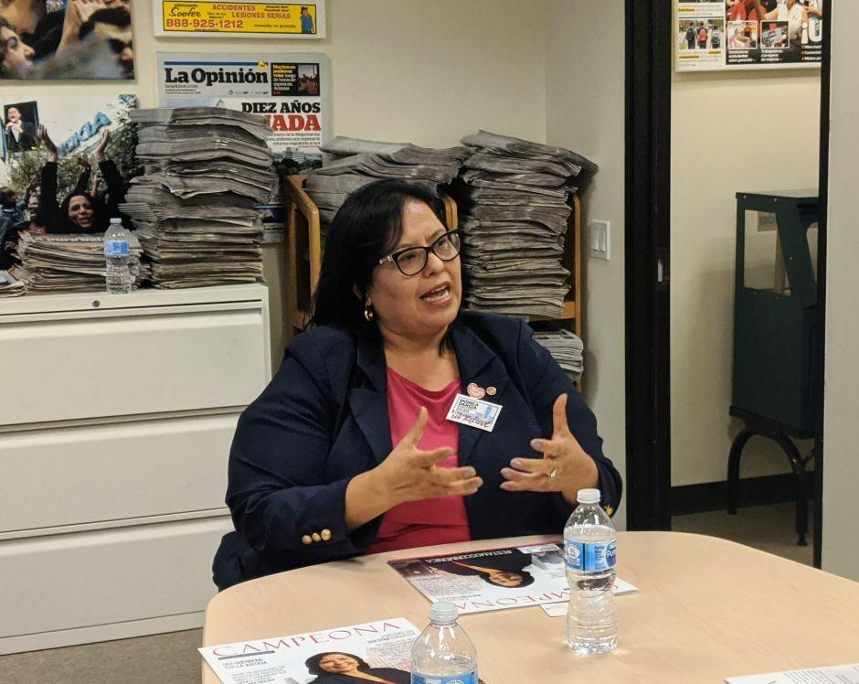 Monica Garcia I Want To Dedicate Myself To This Community In 2020 Dedication Latest News Headlines Graduate School