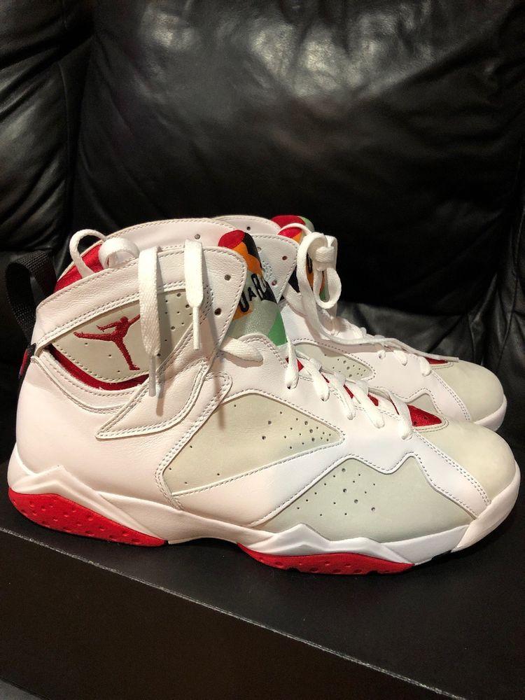 8b25a2adee6 germany air jordan 6 hare custom ebc14 97bce; closeout new mens nike air  jordan 7 retro white red hares basketball sneakers 394775 125 fashion