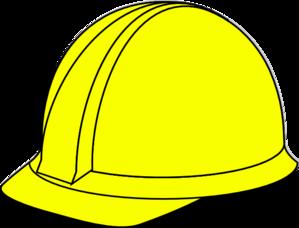 35f19246c05 Yellow Hard Hat Clip Art at Clker.com - vector clip art online ...